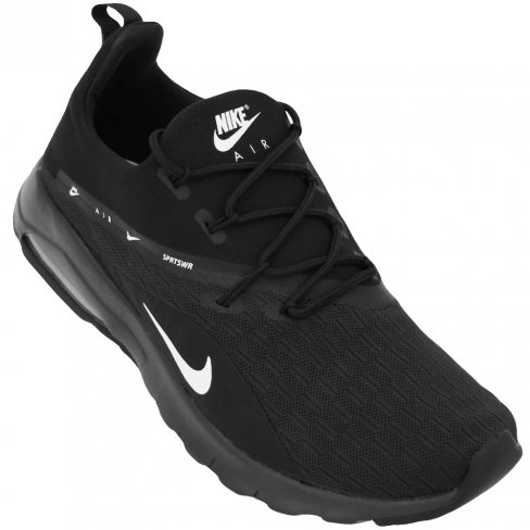 e9cd05acf5448 Tênis Nike Air Max Motion Racer 2 AA2178-002 - Preto - Botoli Esportes   Tênis