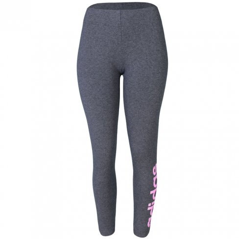 08f0515e8aa64 Legging Adidas Feminina Essentials Linear Tight DU0677 - Mescla/Rosa ...