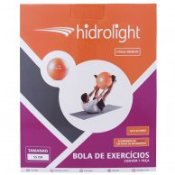 Bola Hidrolight Gym Ball com Bomba 55 cm