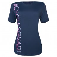 Camiseta Alto Giro Feminina Skin Fit Cycle Squad