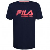 Camiseta Fila Masculina Run Bars Melange
