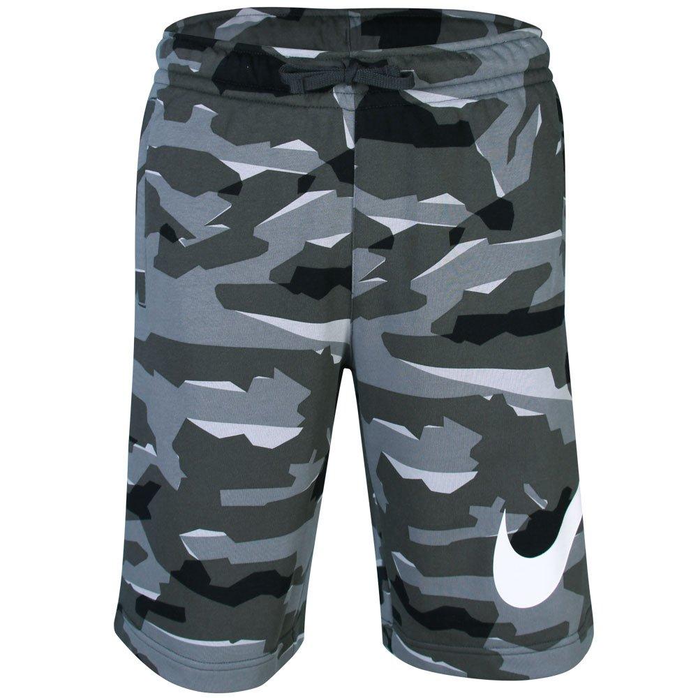 082a166a55 Bermuda Nike Masculina Ft. Club Camo Camuflado AQ0602-065 - Grafite ...