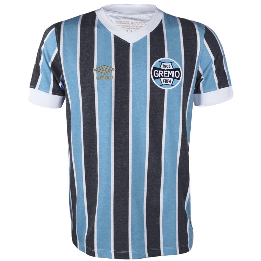 Camisa Umbro Masculina Grêmio Retrô 1983  b25ddd886525a