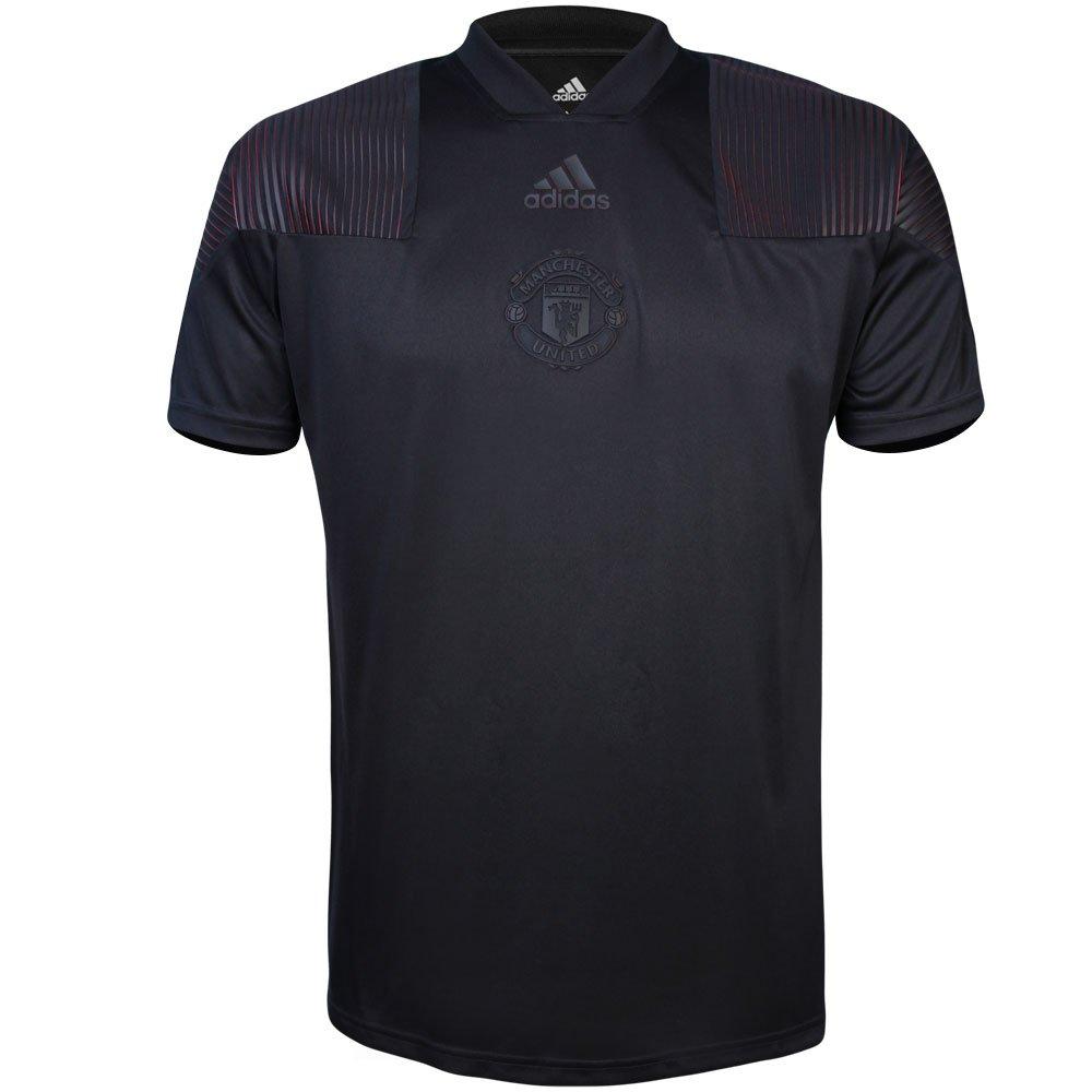 f61d2e3bba Camiseta Adidas Masculina Manchester United Icon Tee CW7651 - Preto ...