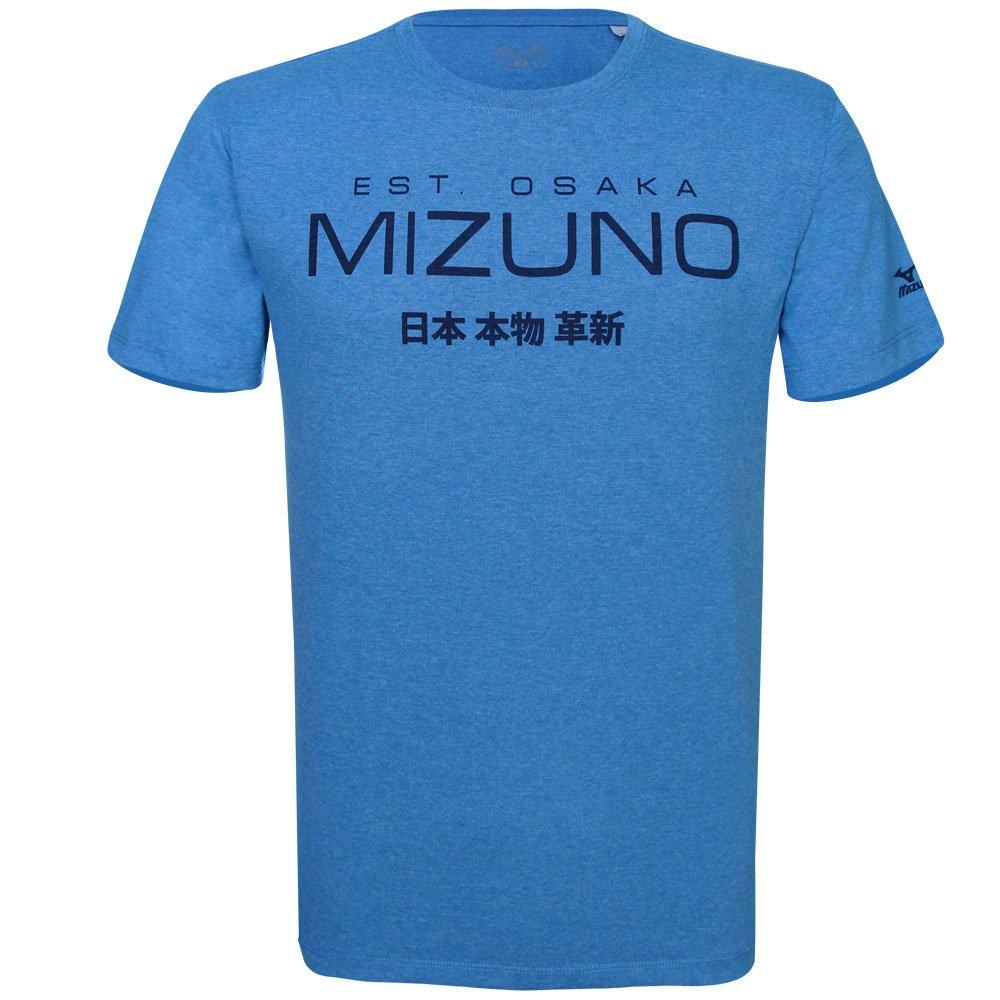 Camiseta Mizuno Masculina Kori 4138761-1366 - Azul - Botoli Esportes ... 12f41b1cb41f0
