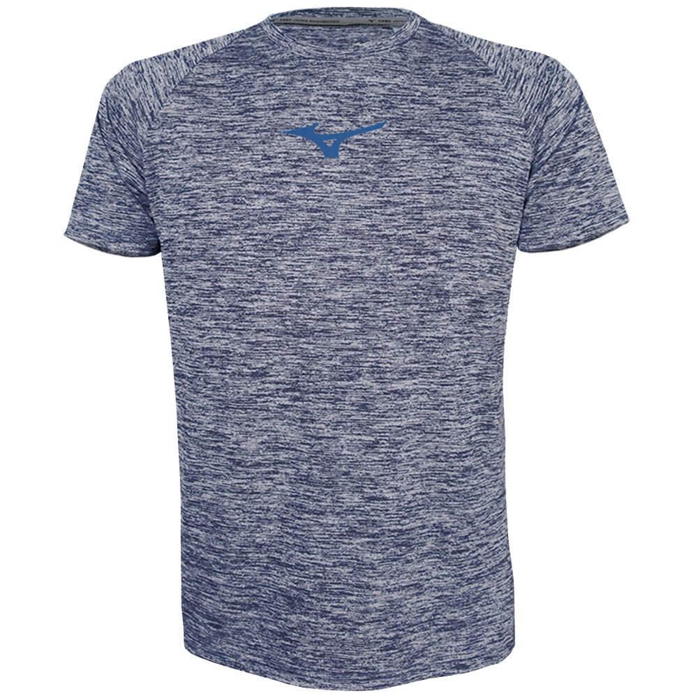 040b137d76 Camiseta Mizuno Masculina Sky Run 4140776-1388 - Azul Mescla/Marinho ...