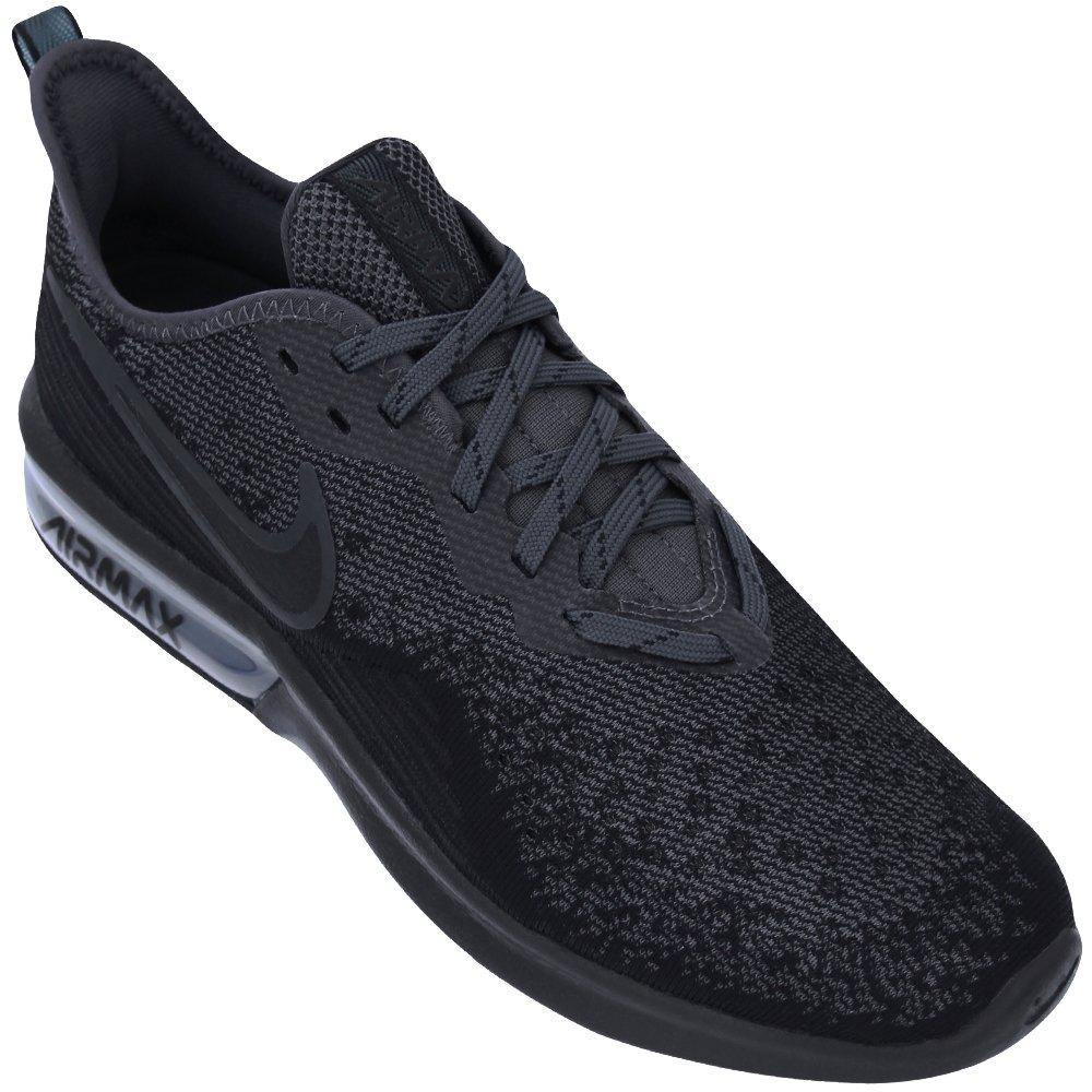 Tênis Nike Air Max Sequent 4 AO4485-002 - Preto - Botoli Esportes ... 16e1aec5a8d4f